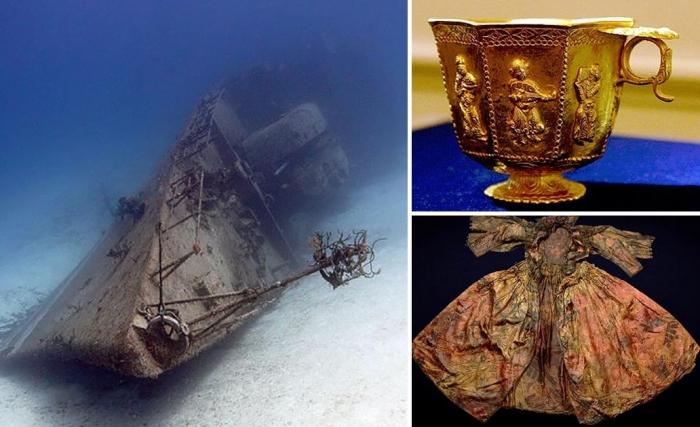 Арабская дау идругие невероятные артефакты с затонувших кораблей.