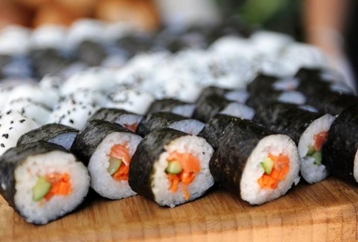 Конкурс для любителей суши.