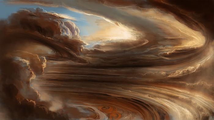 Буря на Юпітері.
