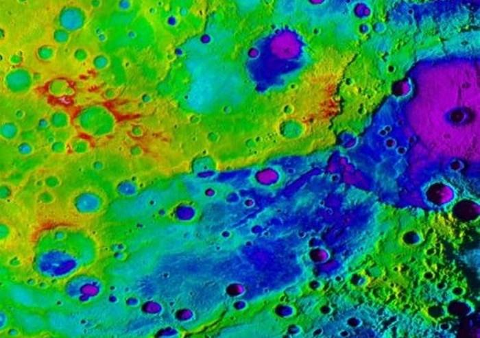 Великой каньон на Меркурии