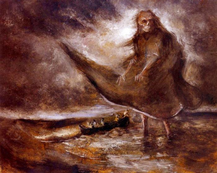 Дух воды. Альфред Кубин