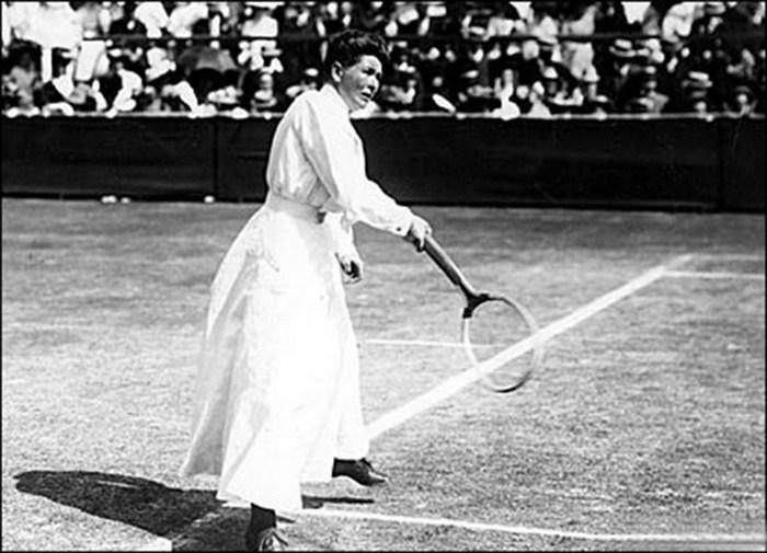 Шарлотта Купер - первая обладательница золотой медали Олимпиады.