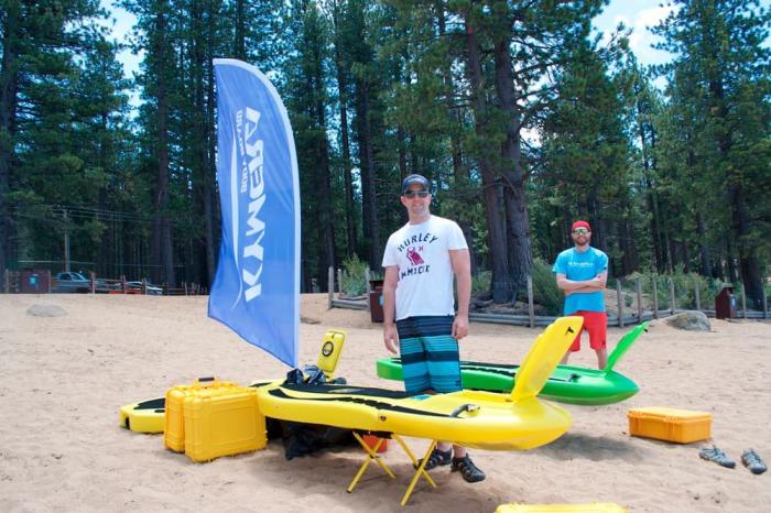 Kymera body board - гидроцикл нового поколения.