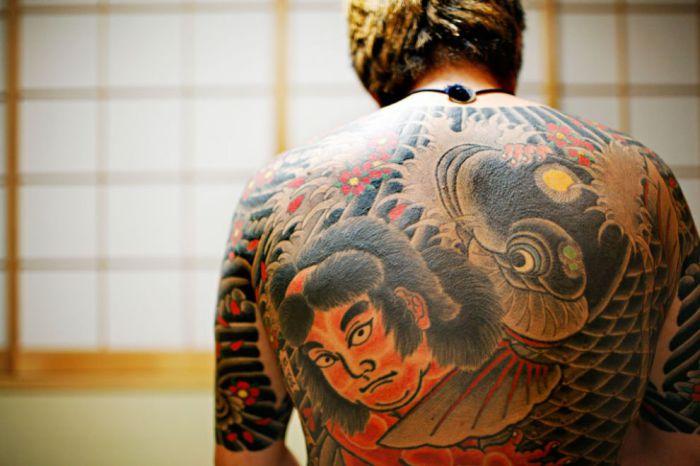 Невероятные факты о татуировках
