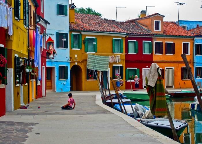 Ла Бока - cамый красочный район Буэнос-Айреса.