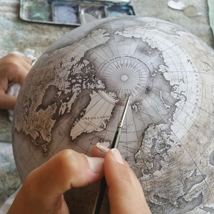 Глобусы от Bellerby & Co. Globemakers.
