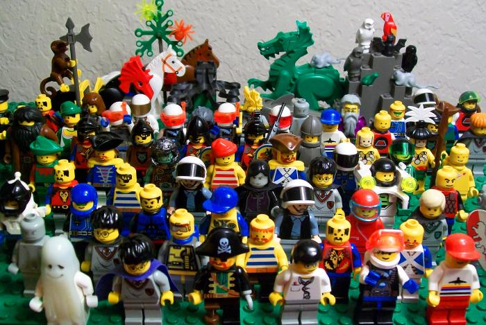 ���������-������������� ����� � Lego.