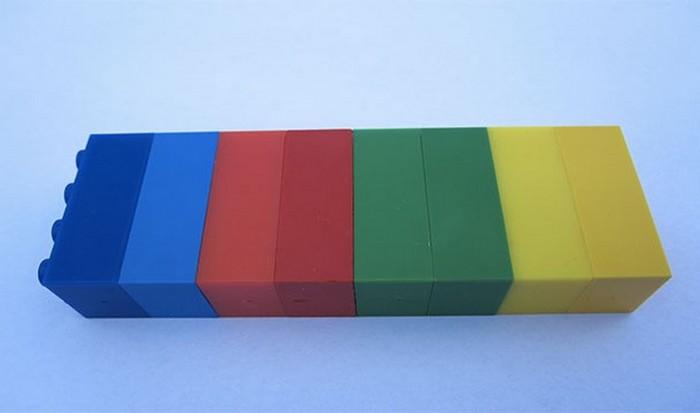 Фирменные Лего-цвета.