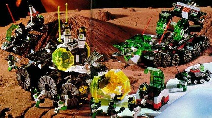 Космическая тематика - одна из самых популярных у Lego.