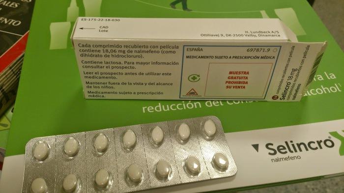 Анти-алкогольные таблетки Selincro.