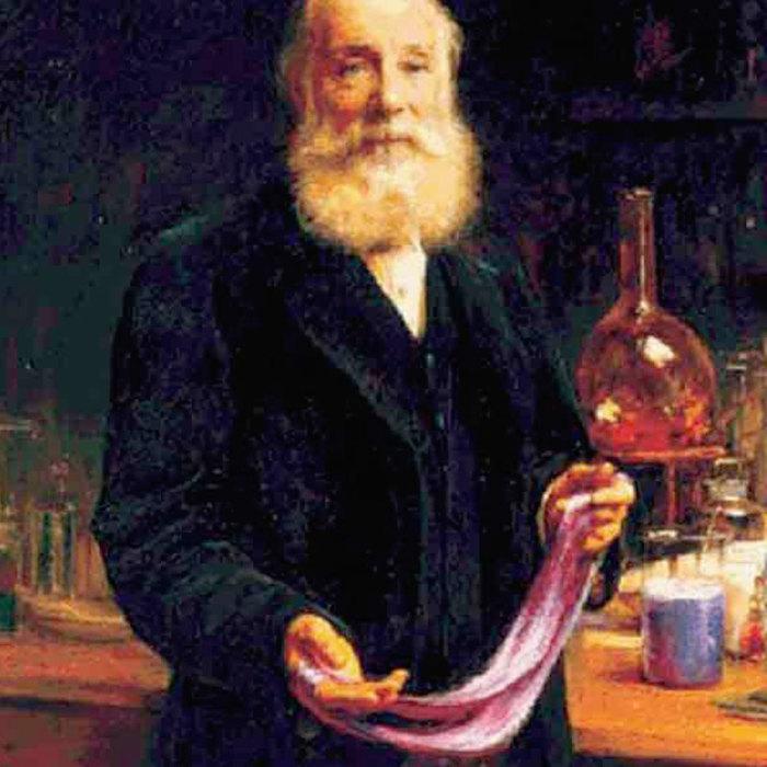 Лиловый цвет - открытие Уильяма Перкина.