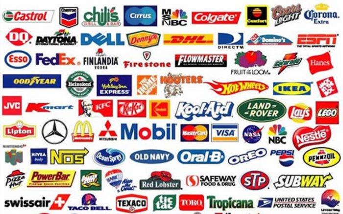 Самые известные логотипы с подтекстом.