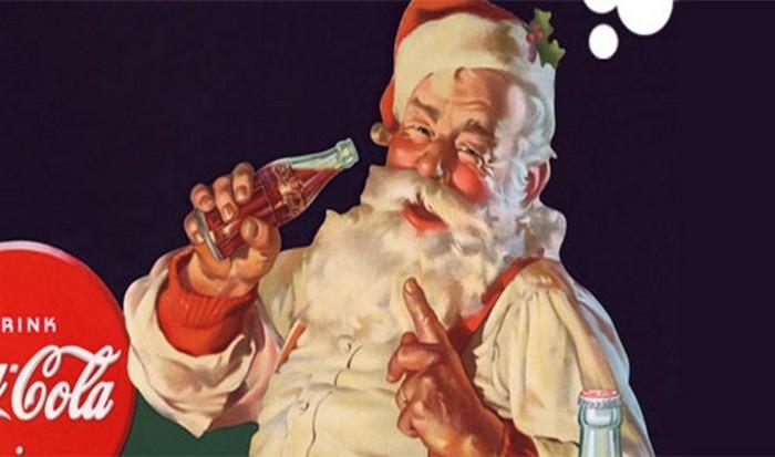 Санта-Клауса изобрела компания Coca-Cola.