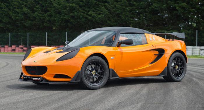 Lotus Elise Race 250 — самый быстрый и стильный британский суперкар.
