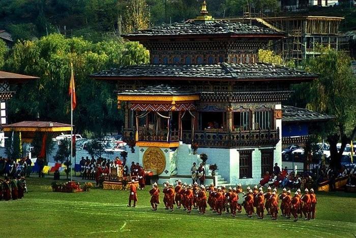 Национальный вид спорта в Бутане.