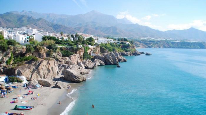 Южное побережье Испании. Малага.