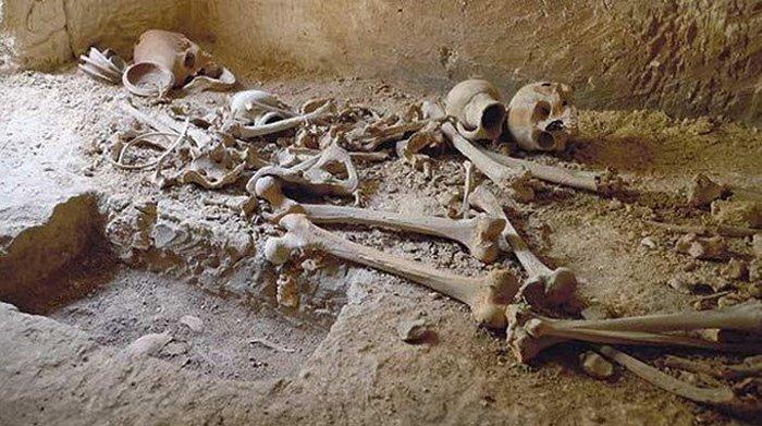 Катакомбы времён Римской империи.
