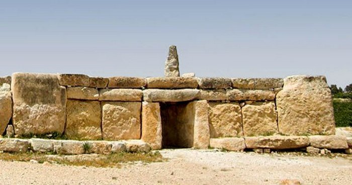 Храм неизвестного культа плодородия.