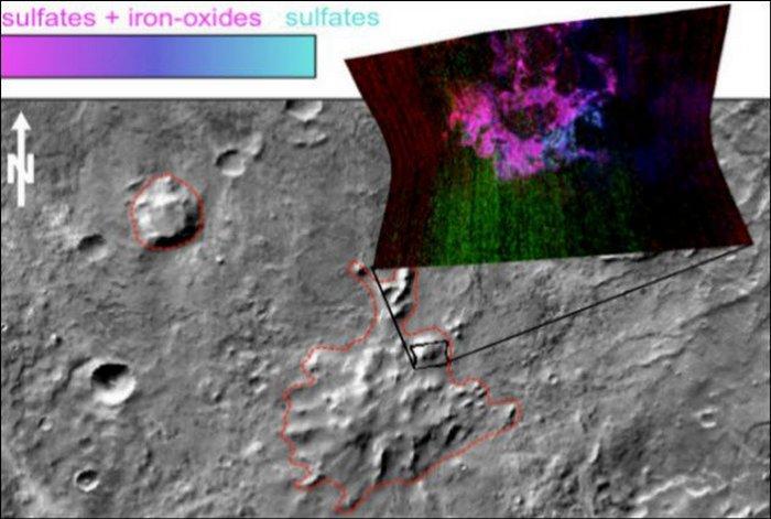 Марсианские подземные вулканы.