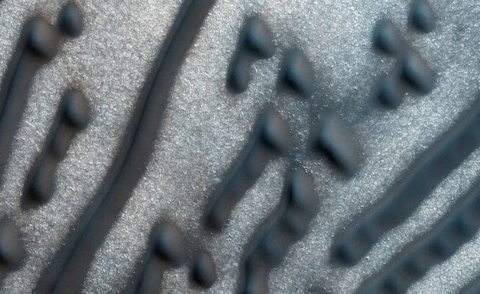 Марсианские дюны или азбука Морзе