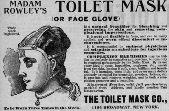 Косметическая маска мадам Роули.