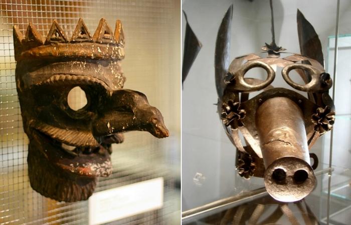 20 средневековых масок позора для дебоширов и сварливых жён.
