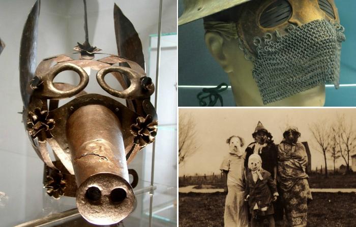 Самые жуткие маски в истории.