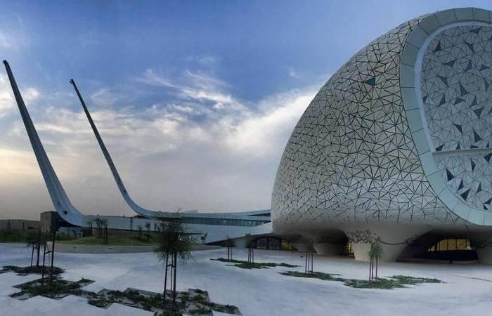 Новая мечеть в Дохе.