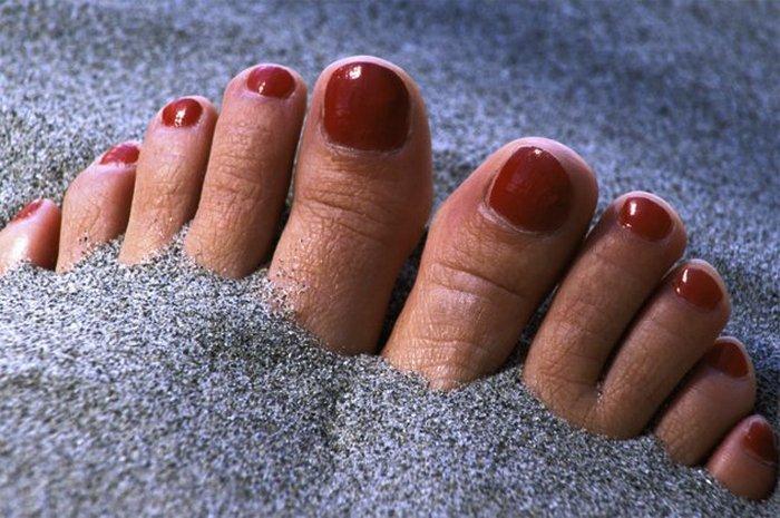 Песок как терапия.