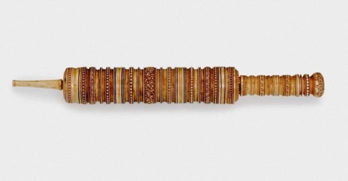 Шприц для клизм. Шри-Ланка, XVII век. Музей науки, Лондон, Великобритания.