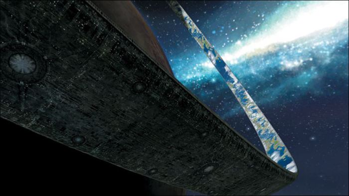 Структура Гало из научной фантастики.