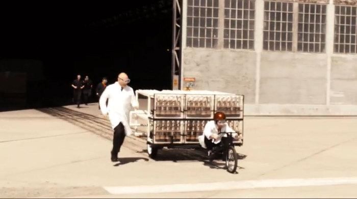 Coke Zero & Mentos Rocket Car