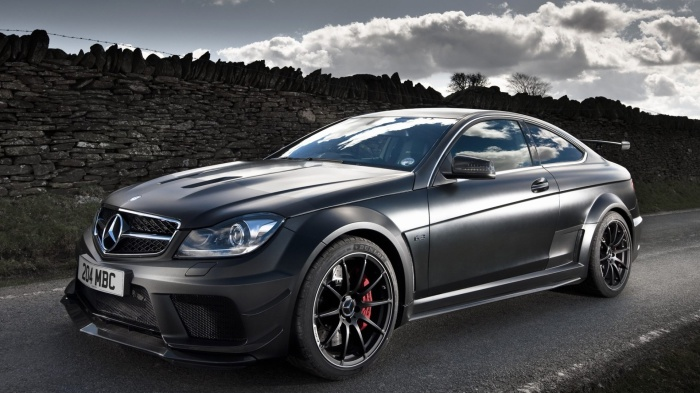 Mercedes-Benz C63 AMG Black Series.