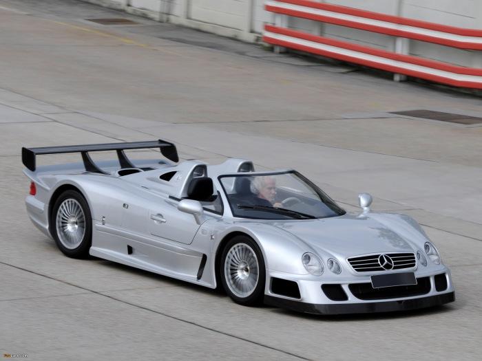 Mercedes-Benz CLK GTR.
