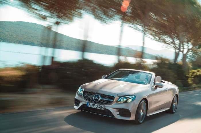 Кабриолет Mercedes E-Class: уже совсем скоро!