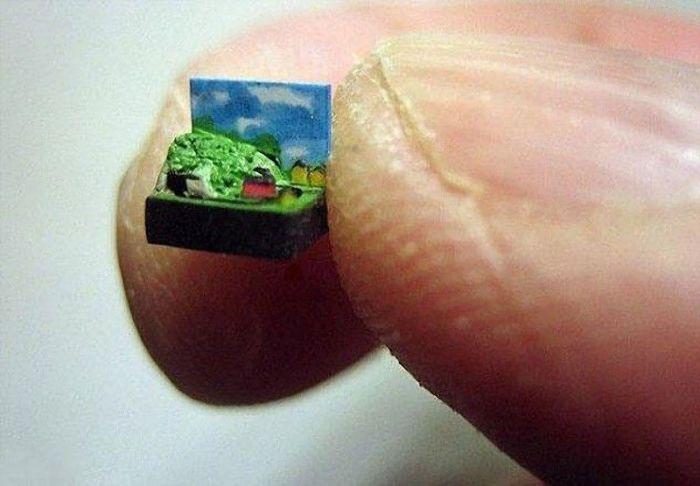 10 поразительно маленьких вещей, созданных руками человека