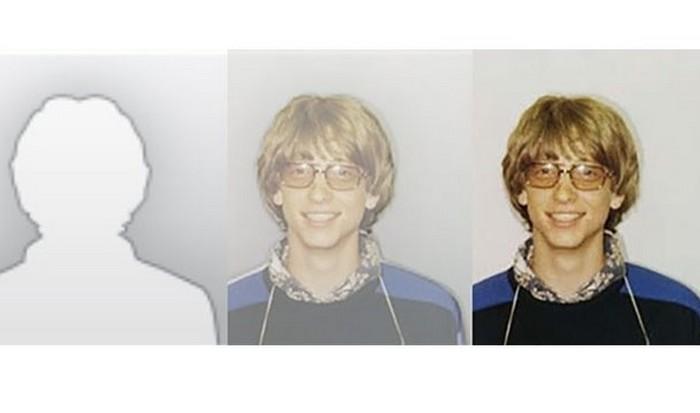 Cилуэт Билла Гейтса.