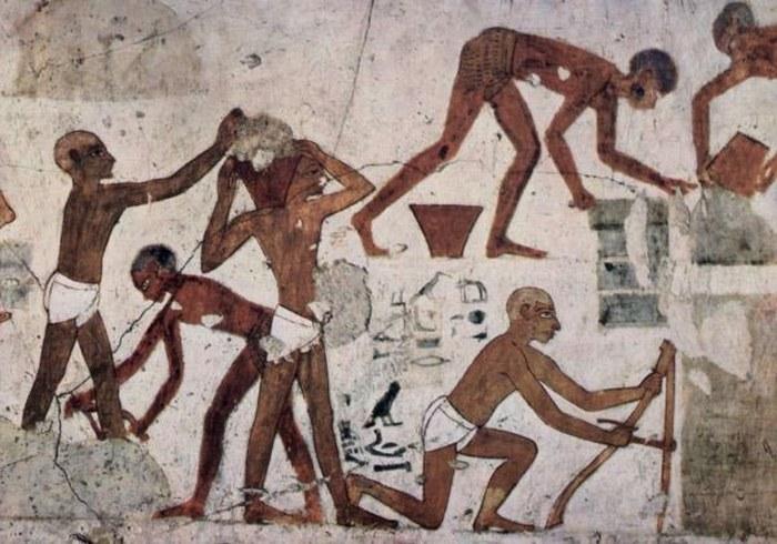 Рабы в Древнем Египте.
