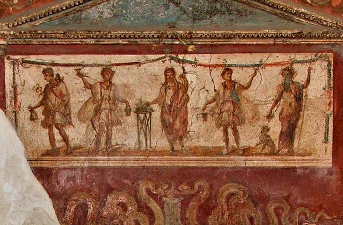 Римские фрески.