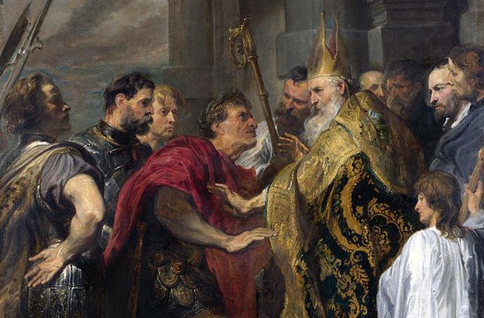 В Риме преследовали многие религий