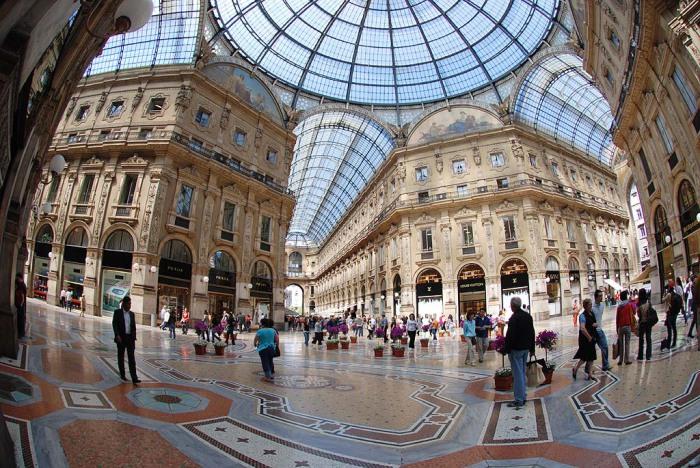 Милан - экономический центр Италии.