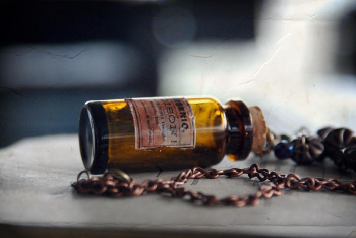 Мышьяк - яд, который используют вместо лекарства.