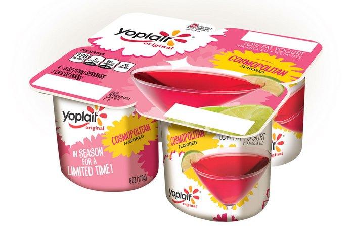 Полный провал: йогурт Cosmopolitan.