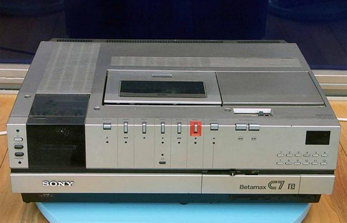 Полный провал: Sony Betamax.