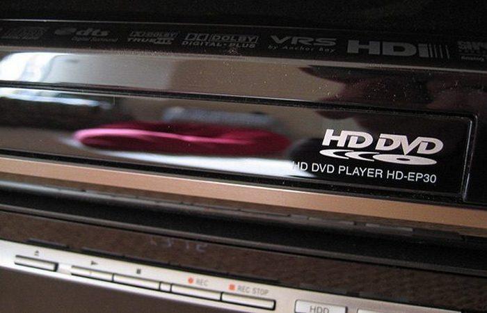 Полный провал: HD-DVD.