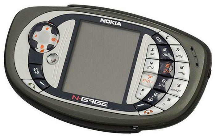 Полный провал: Nokia N-Gage.