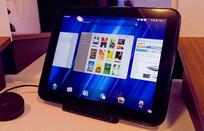 Полный провал: HP Touchpad.