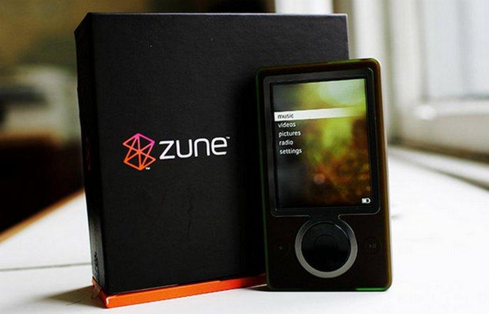 Полный провал: Microsoft Zune.
