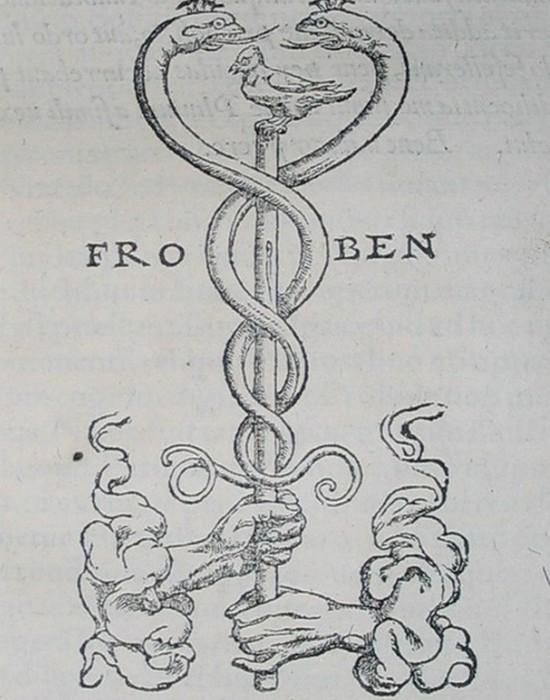 Символ Кадуцей.