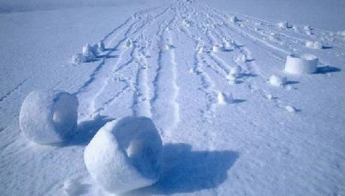Снежные ролики в Огайо.